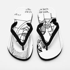 2852_paper_cartoon Flip Flops