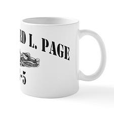 rlpage ff black letters Mug