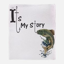Its my story2 Throw Blanket
