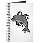 Dolphin Hoop Porpoise Cartoon Journal