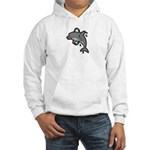 Dolphin Hoop Porpoise Cartoon Hooded Sweatshirt