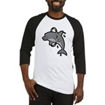 Dolphin Hoop Porpoise Cartoon Baseball Jersey