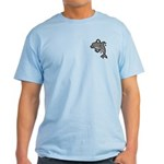 Dolphin Hoop Porpoise Cartoon Light T-Shirt