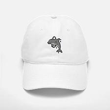 Dolphin Hoop Porpoise Cartoon Baseball Baseball Cap