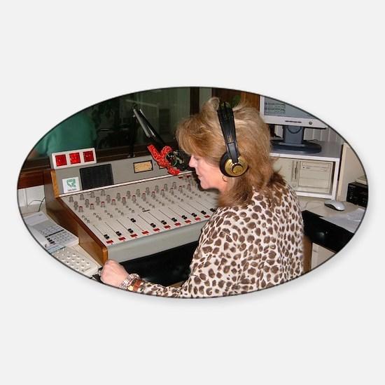 Nh@radioStationPromoSpain Sticker (Oval)