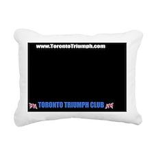 LicensePlateTemplate4 Rectangular Canvas Pillow