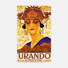 Puccini Diva Decal