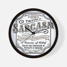 sarcasm-oldtyme-LTT Wall Clock