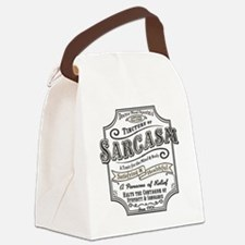 sarcasm-oldtyme-LTT Canvas Lunch Bag