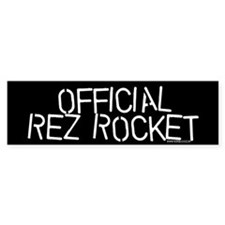 OFFICIAL REZ ROCKET Bmpr Bumper Sticker