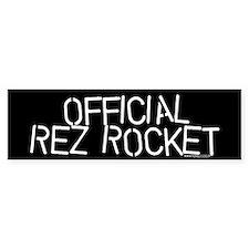 OFFICIAL REZ ROCKET Bmpr Car Sticker