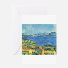Bay of Marseille - Paul Cezanne - c1885 Greeting C