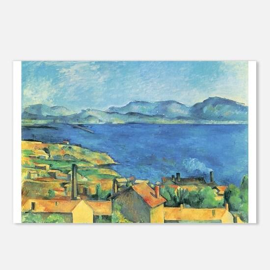 Bay of Marseille - Paul Cezanne - c1885 Postcards