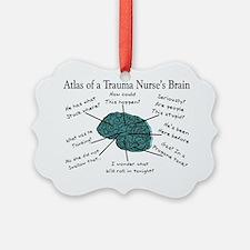 A Trauma Nurses Brain Ornament