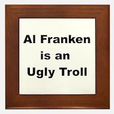 Al Franken, Ugly troll Framed Tile