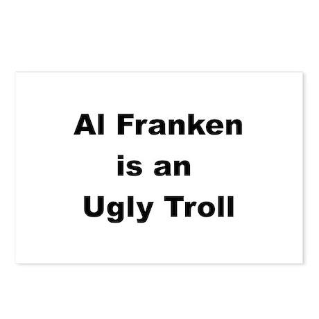 Al Franken, Ugly troll Postcards (Package of 8)