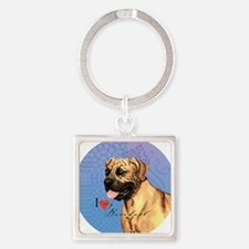 boerboel-button Square Keychain