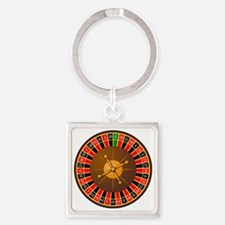 roulette1 Square Keychain