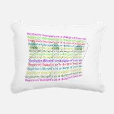 Respiratory charge of ai Rectangular Canvas Pillow