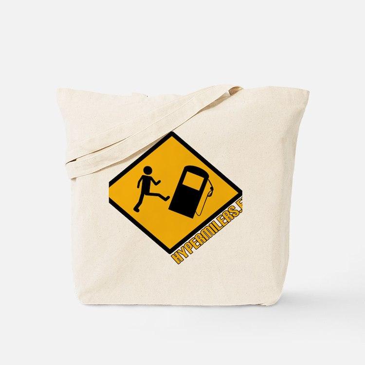 logo_hypermilers_con_letras Tote Bag