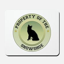 Snowshoe Property Mousepad