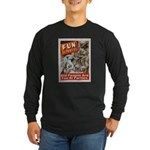 Old People Are Fun At Parties Long Sleeve Dark T-S