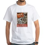 Old People Are Fun At Parties White T-Shirt