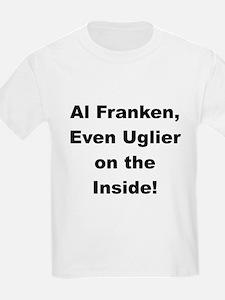 Al Franken, Uglier on the Inside Kids T-Shirt
