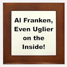 Al Franken, Uglier on the Inside Framed Tile