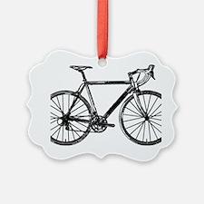 Road Bike Ornament
