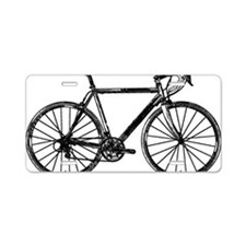 Road Bike Aluminum License Plate