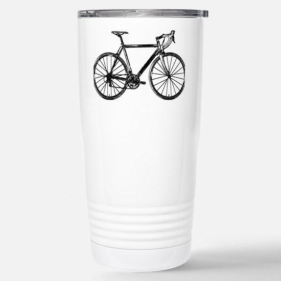 Road Bike Stainless Steel Travel Mug