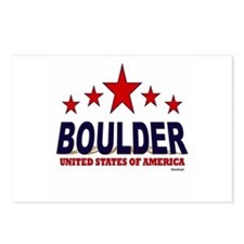 Boulder U.S.A. Postcards (Package of 8)