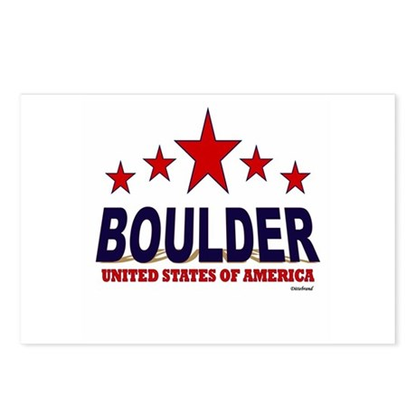 Boulder U.S.A. Postcards (Package of 8)