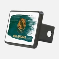 Oklahomatex3-paint stylete Hitch Cover