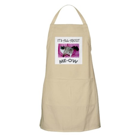 All About ME-OW Ragdoll Cat BBQ Apron