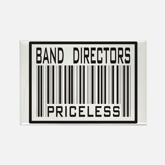 Band Directors Priceless Barcode Rectangle Magnet