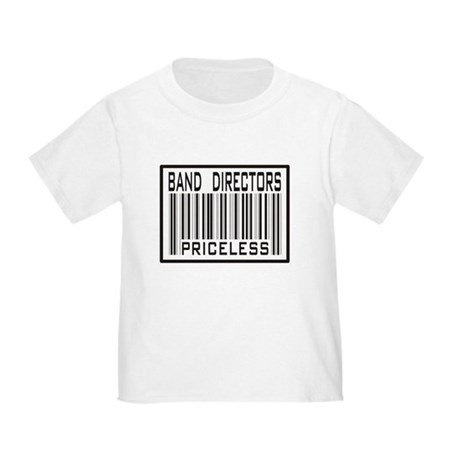Band Directors Priceless Barcode Toddler T-