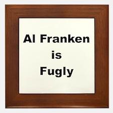 Al Franken is Fugly Framed Tile