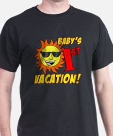 Babys First Vacation Shirt T-Shirt