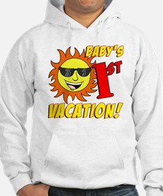 Babys First Vacation Shirt Hoodie