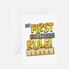 First Graders Rule Greeting Cards (Pk of 10)