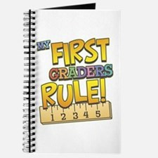 First Graders Rule Journal