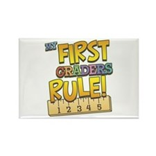 First Graders Rule Rectangle Magnet