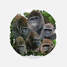"gorilla tee 3.5"" Button"