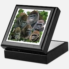 gorilla tee Keepsake Box