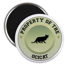 "Ocicat Property 2.25"" Magnet (10 pack)"