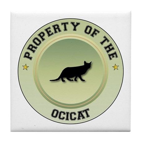 Ocicat Property Tile Coaster