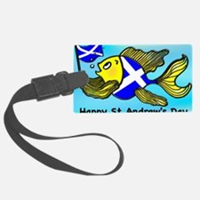 Happy St. Andrews Day Luggage Tag