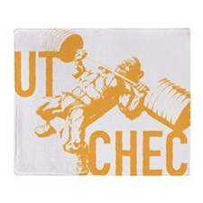 GUT CHECK Throw Blanket